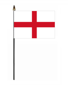 England Country Hand Flag - Small.